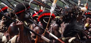 perang suku papua