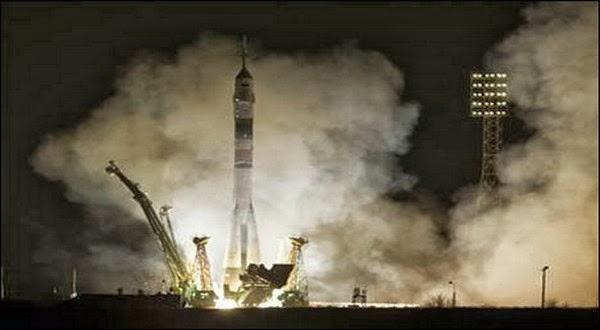 3 Astronot Baru ke ISS dengan Roket Soyuz