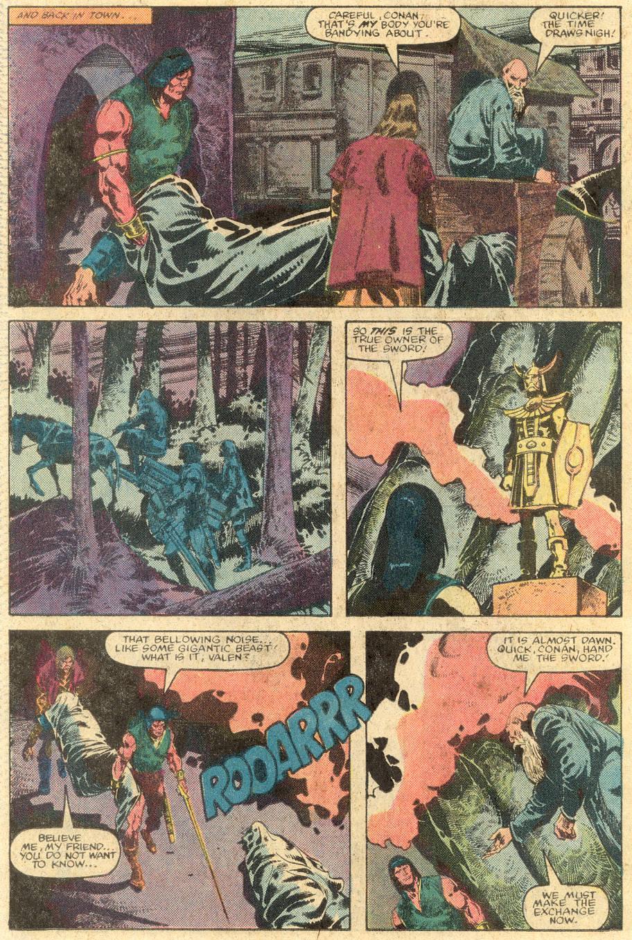 Conan the Barbarian (1970) Issue #143 #155 - English 19