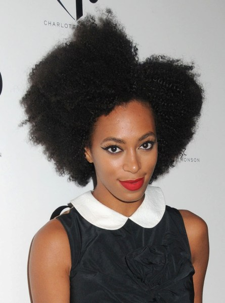 Natural Hair Icon: Solange Knowles