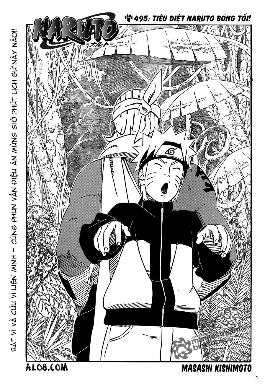 Naruto chap 495 Trang 1 - Mangak.info