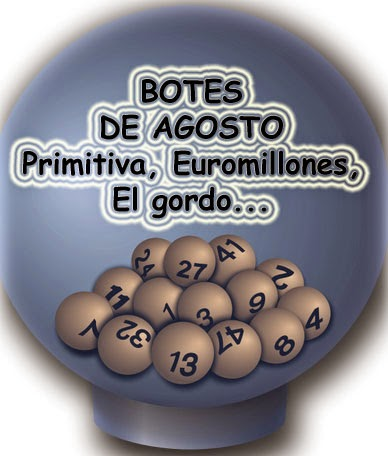 Ultimos botes de lotería en juego en agosto de 2014