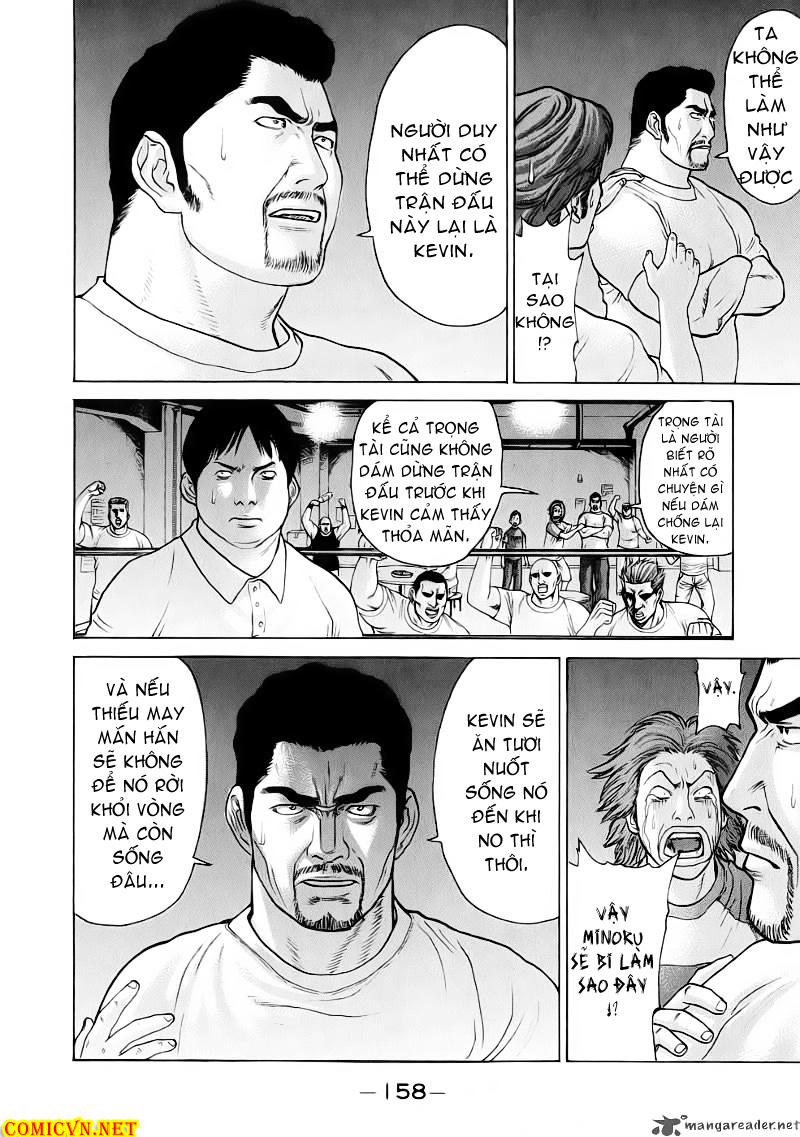 Karate Shoukoushi Kohinata Minoru chap 62 Trang 8