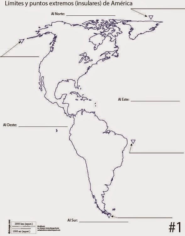Aula de Estudios Sociales Mapas de Amrica
