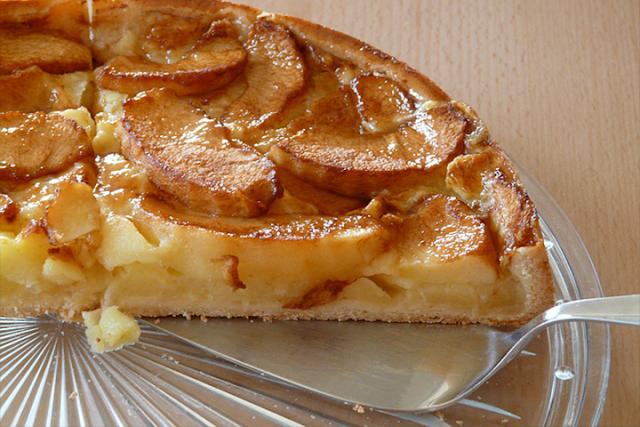 recette tarte au pommes facile