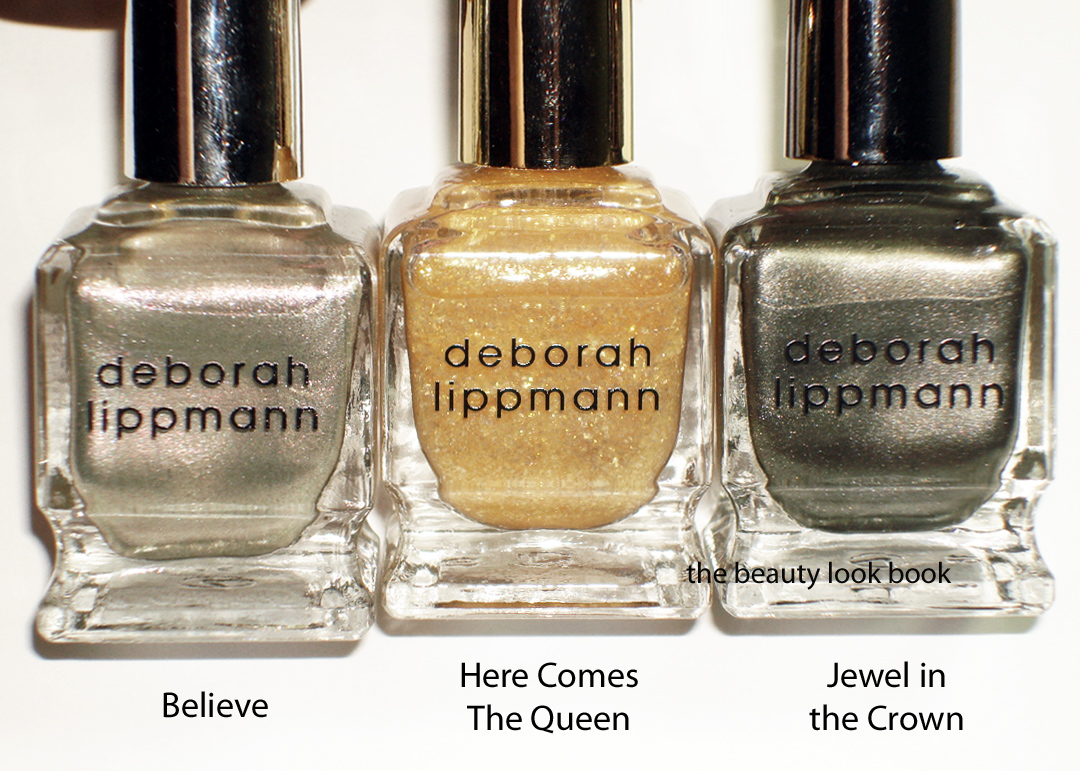 Juicy Couture & Deborah Lippmann Precious Metals Nail Polish Set ...