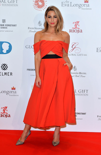 Actress, Singer, Model, @ Rachel Stevens - The Global Gift Gala in London