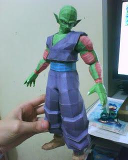 Dragon Ball Z, Piccolo Papercraft Model