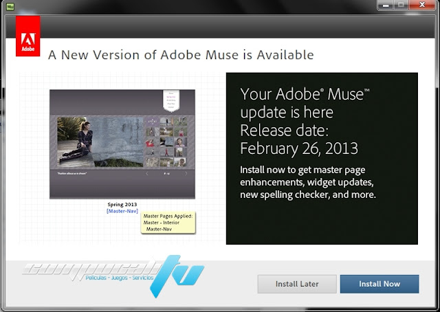 Adobe Muse CC 2015.0 Full Español