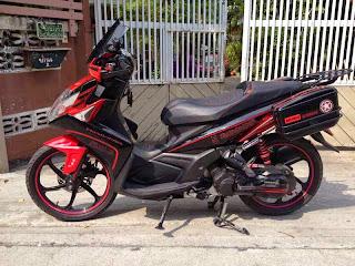 Modifikasi Yamaha Nouvo SX