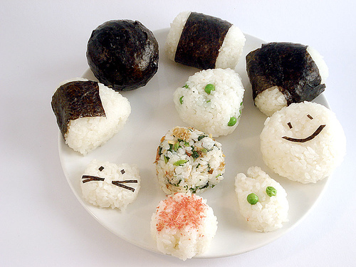 ... Eating Starts at Home: Onigiri (Japanese Rice Balls) - Tutorials