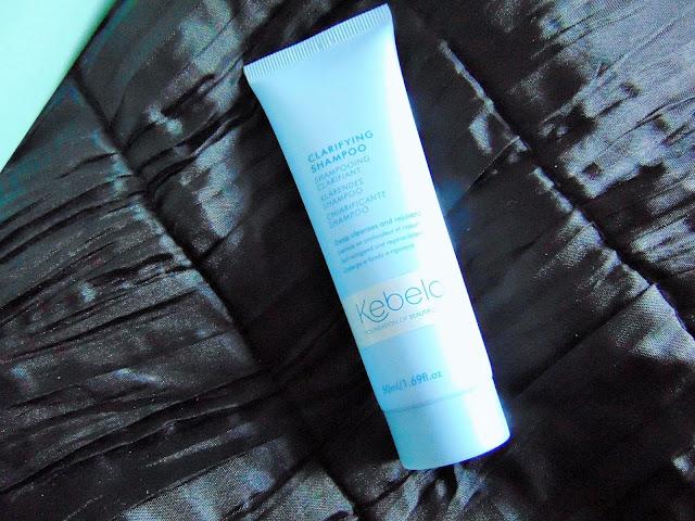 Birchbox August #beautyjunkie Kebelo clarifying shampoo