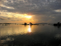Beautiful Sunset over Isabela Island, Galapagos