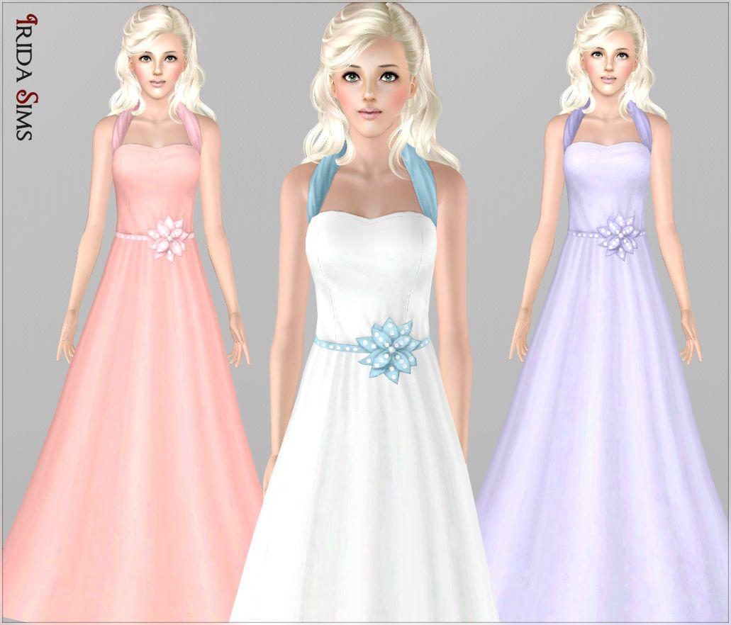 My sims 3 blog wedding dress 16 by irida sims