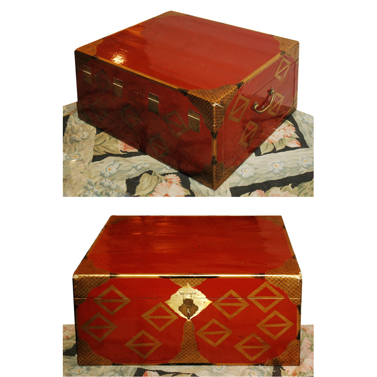 Auction Decorating Vintage Suitcases And Trunks As