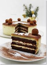 Karácsonyi krémes sütemények, torták