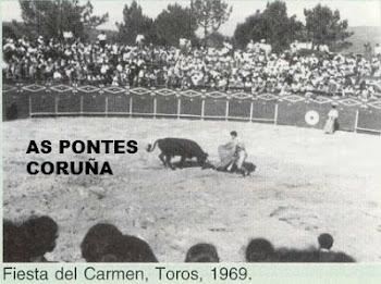TOROS EN AS PONTES CORUÑA 1969