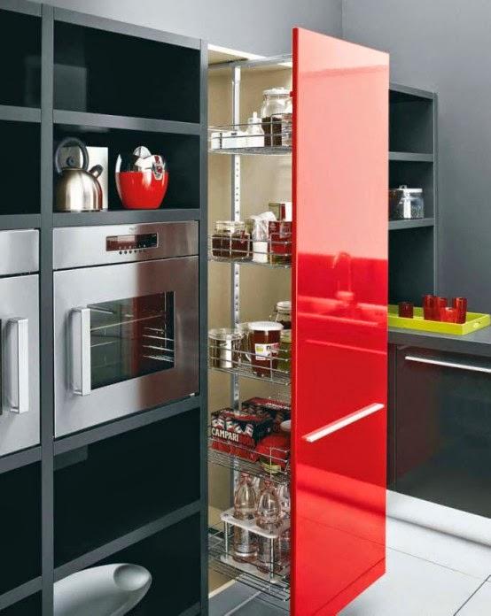Kitchen Set Warna Merah Hitam Kitchen Models Kitchen Design Ideas 2019