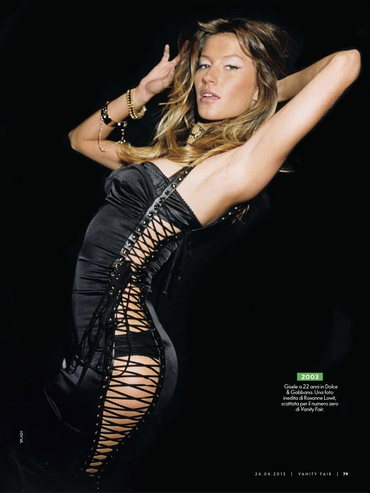 Gisele Bundchen for Vanity Fair Italy : April 2013 |MagSpider