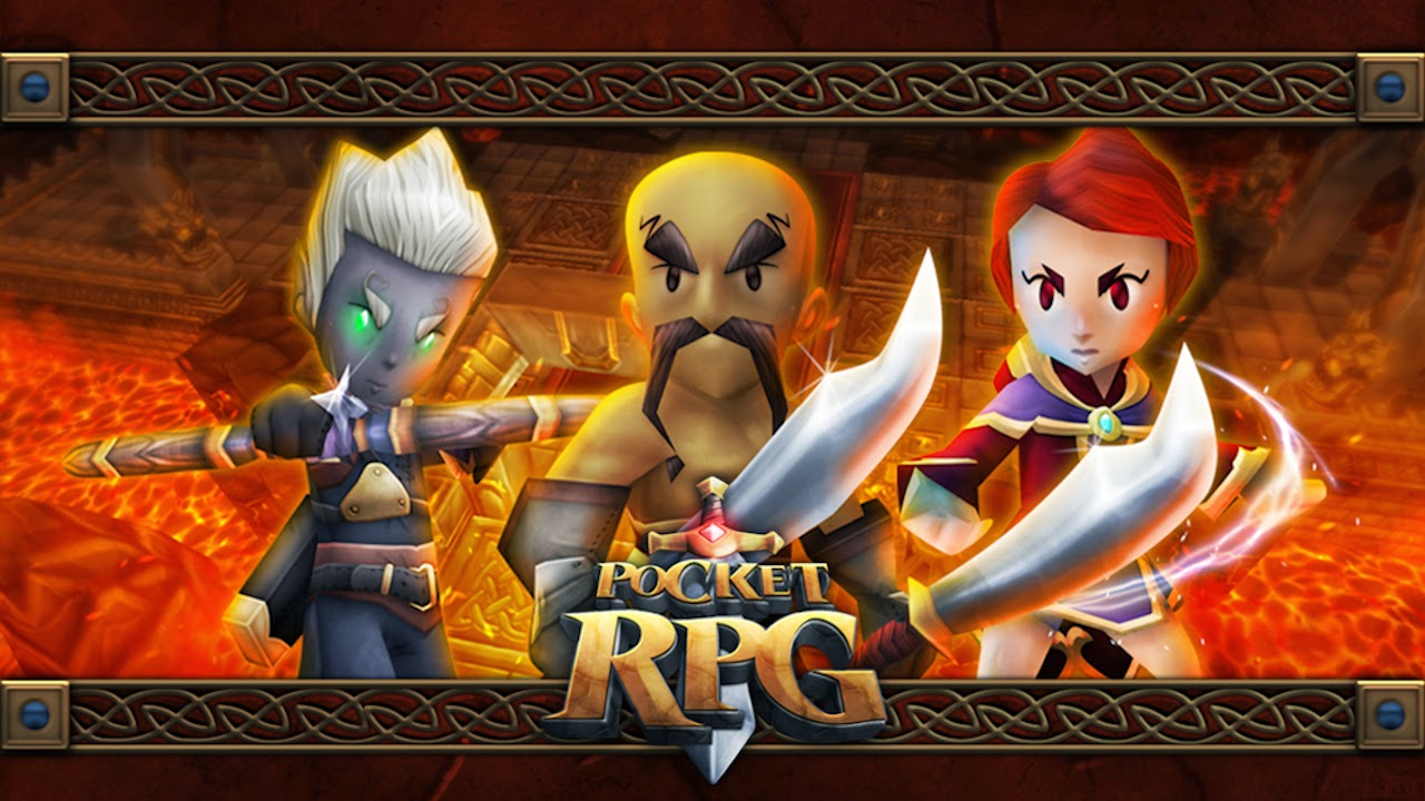 Pocket RPG Apk v1.21 + Data Mod [Unlimited Coins / Skills]