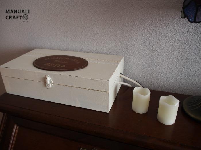 Caja para ocultar regleta y enchufes manualicraft costura creativa - Caja para ocultar cables ...