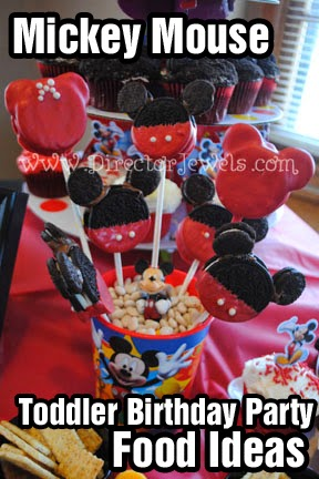 Since He Loves Mickey Mouse It Seemed Only Natural To Choose Everyones Favorite As Our Birthday Party Theme