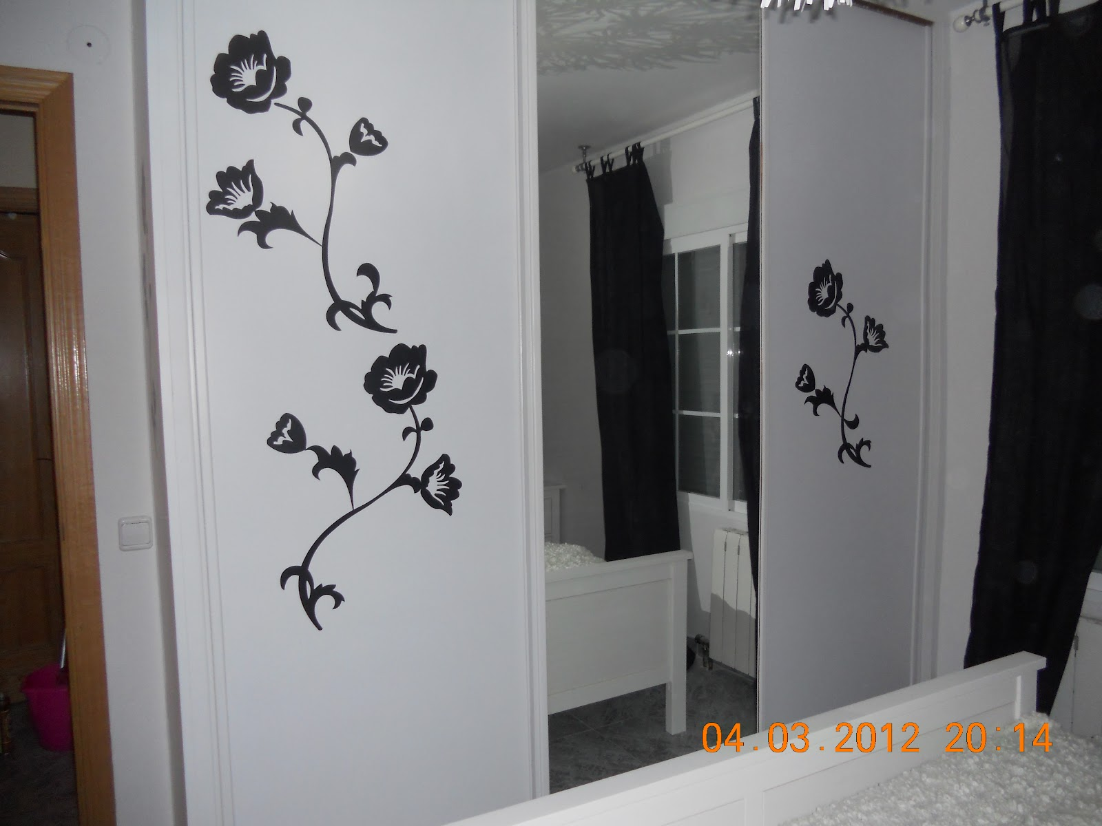 Cosas de gatitos ideas para decorar tu habitacion for Laminas vinilo pared