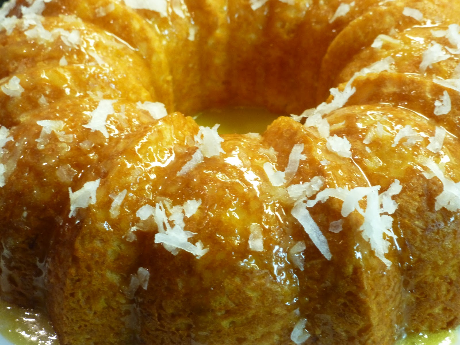 Easy Pineapple Coconut Bundt Cake
