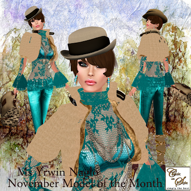 November Model Of The Month, Yrwin Naglo