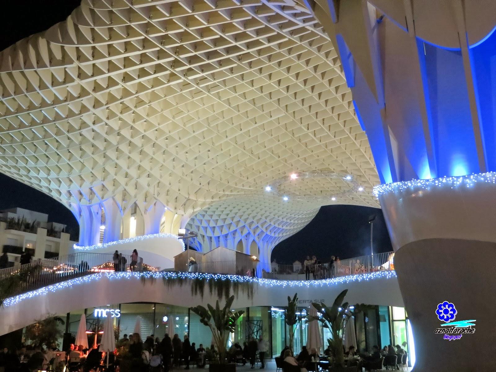 Sevilla alumbrado navide o 2013 aznalfarache - Iluminacion sevilla ...