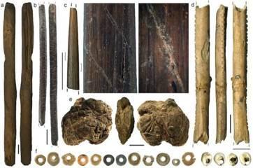 peninggalan prasejarah di Border cave afrika selatan