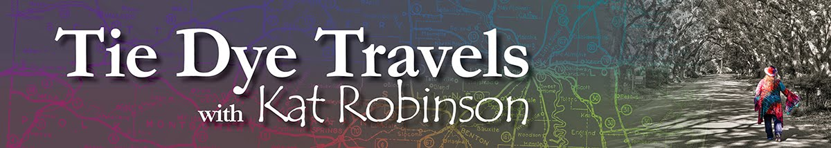 Tie Dye Travels with Kat Robinson - Author, Arkansas Food Historian, TV Host and Best Loved Traveler