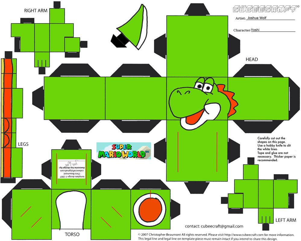 Dini Create Cubeecraft Mario