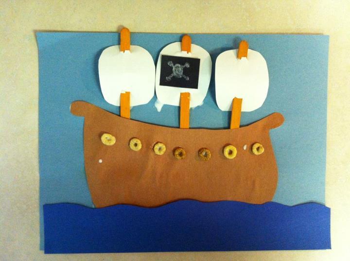 Handmade by cj preschool pirate projects for Ez craft usa vinyl