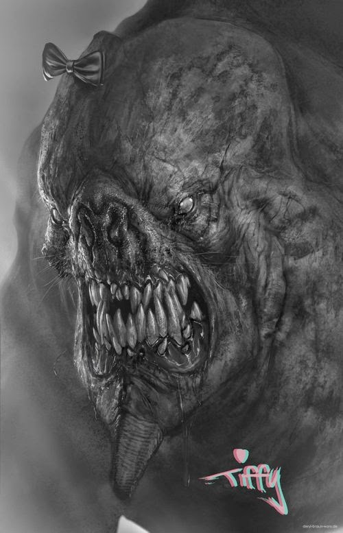 Deryl Braun deviantart ilustrações ficção científica fantasia mitologia arte conceitual