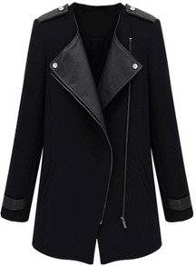 www.shein.com/Black-Contrast-PU-Leather-Trims-Oblique-Zipper-Coat-p-146981-cat-1735.html?aff_id=2525