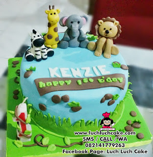 Kue Tart Binatang Daerah Surabaya - Sidoarjo
