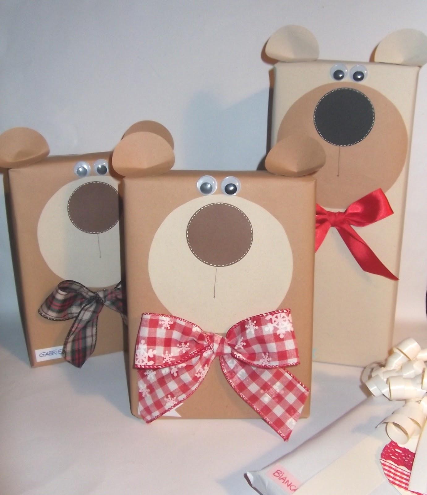 Cartoncino mio orsetti regalo for Regalo per cognata natale