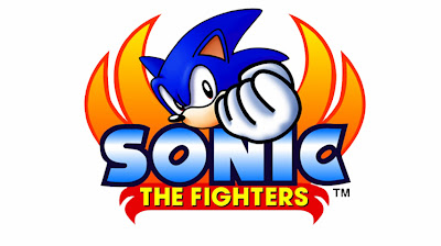 Sonic The Fighters Logo - We Know Gamers
