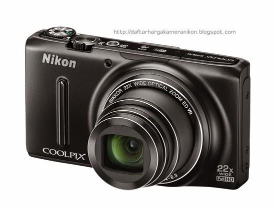 Harga dan Spesifikasi Kamera Nikon Coolpix S9500