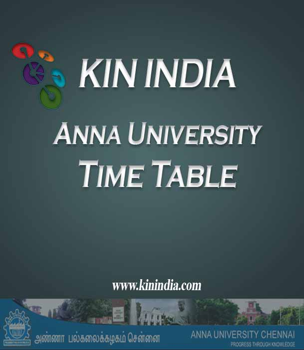 Anna university may june 2015 time table for 2nd 4th 6th for Rgpv time table 4 th sem 2015