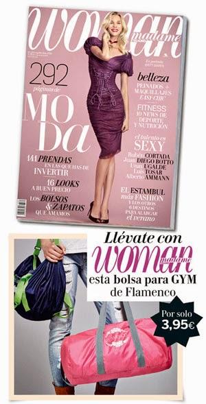 Regalos revistas septiembre 2014: Woman