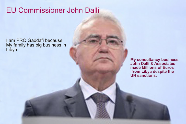 John Dalli Makes Pro Gadaffi Comments