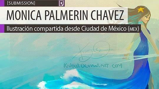Ilustración. Lady ocean de MONICA PALMERIN CHAVEZ
