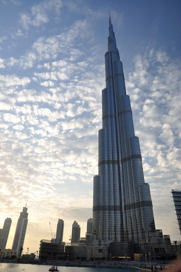 en el edificio ms alto del mundo burj dubai