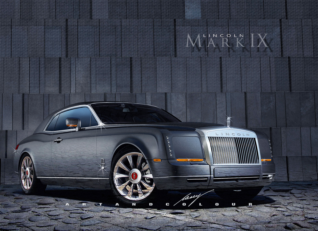 2014 Lincoln Continental http://artandcolourcars.blogspot.com/2011/10/lincoln-continental-mark-ixthe.html