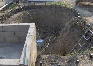 Plan d'exécution d'une bâche à eau - coffrage et ferraillage 2