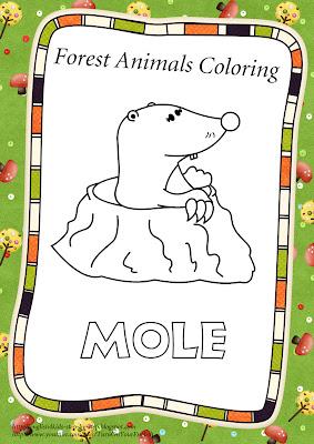 mole coloring