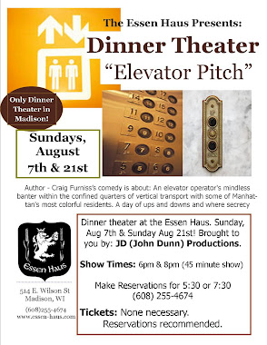 Essen Haus Presents: Elevator Pitch