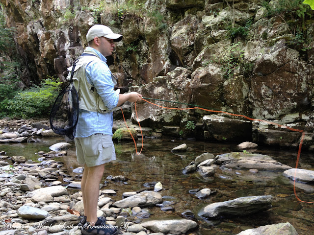 Southern renaissance man fly fishing north fork moormans for Fly fishing west virginia